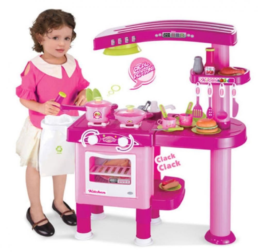 69PC LARGE CHILDRENS KIDS KITCHEN COOKING ROLE PLAY
