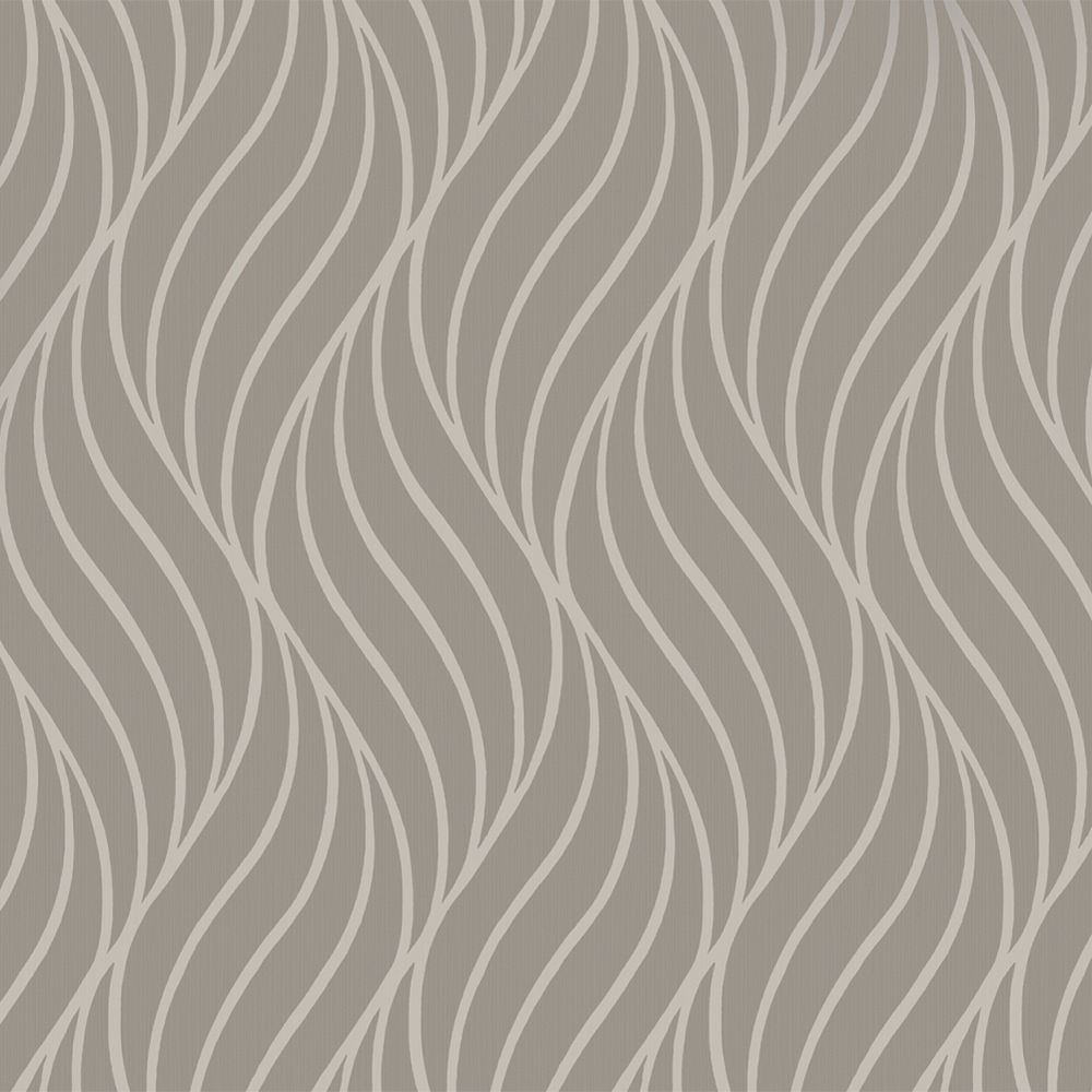 Holden Maddox Wave Stripe Pattern Wallpaper Modern