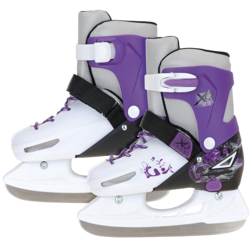 XQ MAX GIRLS BOYS INLINE ROLLER SKATES ICE SKATING BOOTS ...