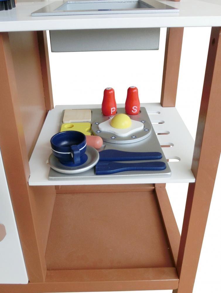 Cocinita de madera juguete para niños cocina de imitación INFANTIL ...
