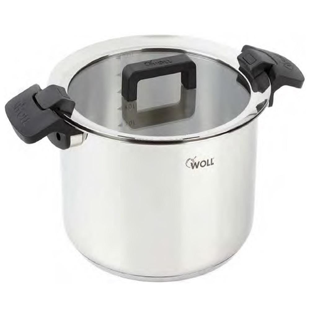 woll stainless steel induction saucepan stock pot casserole stew dish pan lid ebay. Black Bedroom Furniture Sets. Home Design Ideas