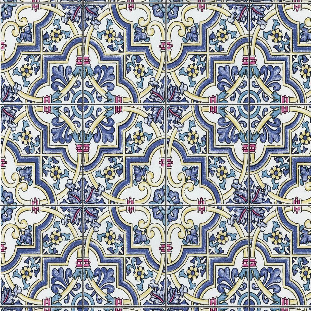 p s international baroque tuile motif papier peint effet. Black Bedroom Furniture Sets. Home Design Ideas