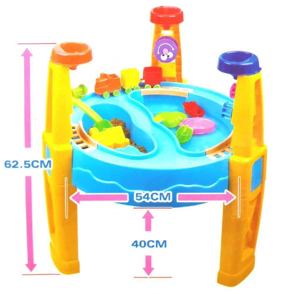 Preschool Table Toys : Childrens kids toddler sand and water play table activity
