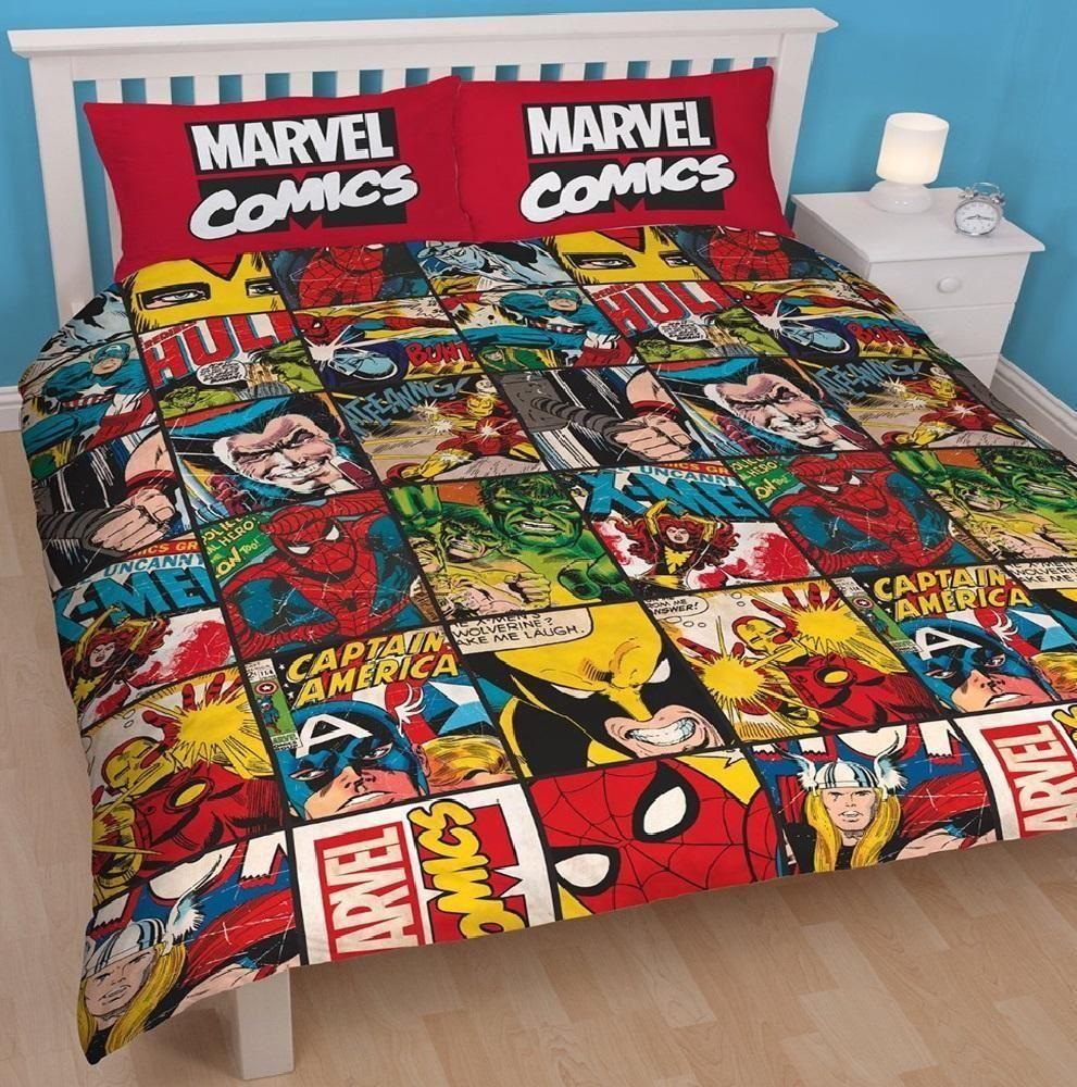 Cartoon Character Double Duvet Set Quilt Cover Kids