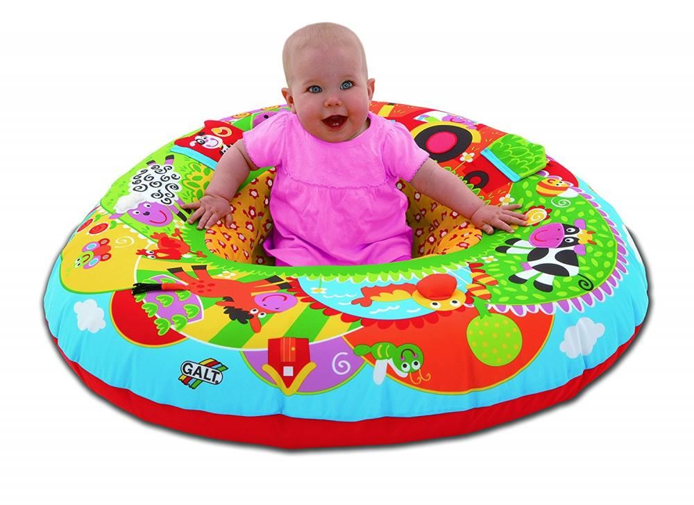 Galt Inflatable Blow Up Playnest Farm Baby Play Toy Seat ...