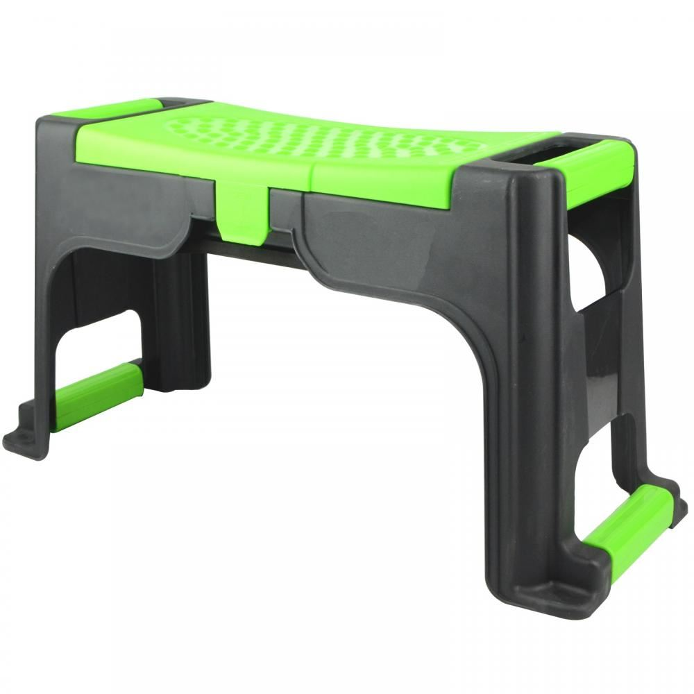 Portable Garden Kneeler Foam Chair Seat Gardening Knee Pad Padded Stool  Tool Box