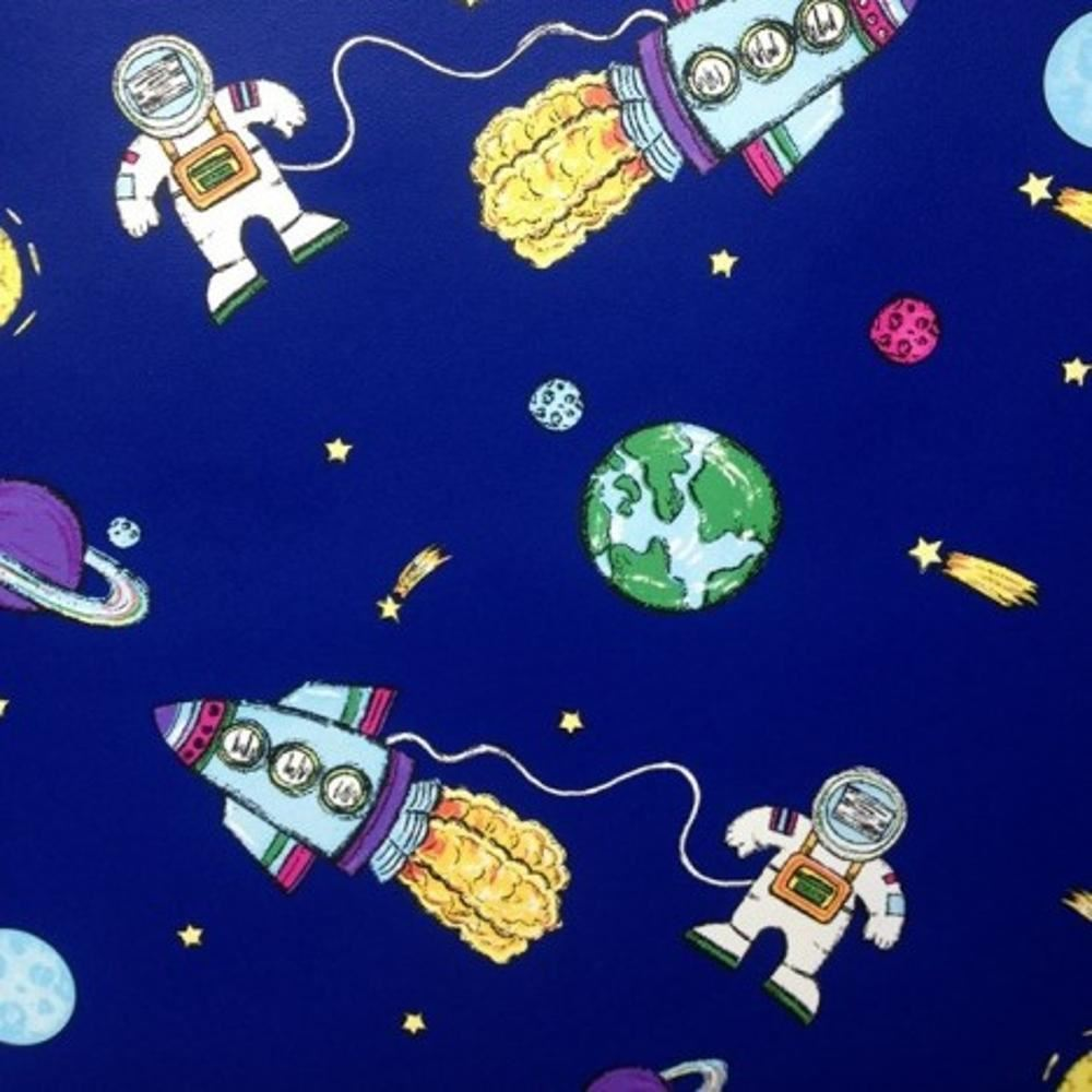 debona space blue spaceman rocket planets kids childrens cartoon