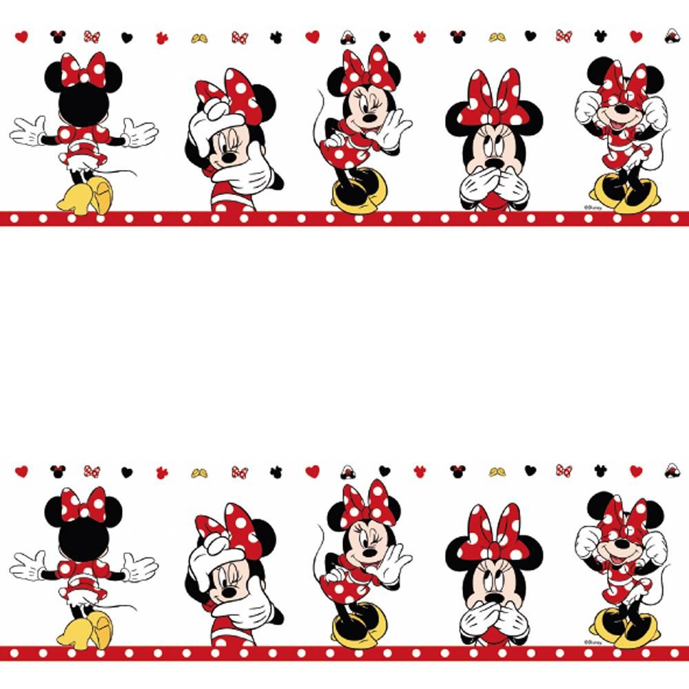 New Galerie Official Disney Minnie Mouse Childrens Nursery Wallpaper Border Ebay