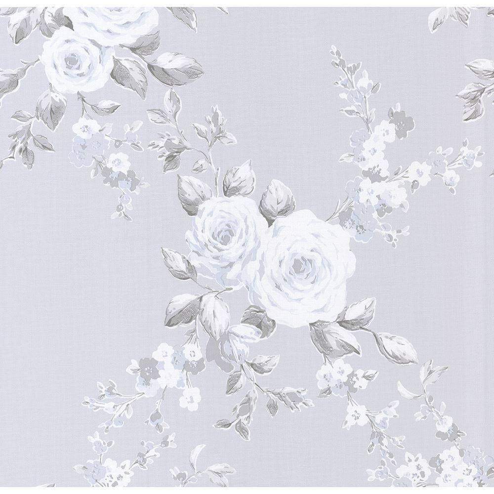 Ps International Floral Trail Diamond Flower Pattern Paper