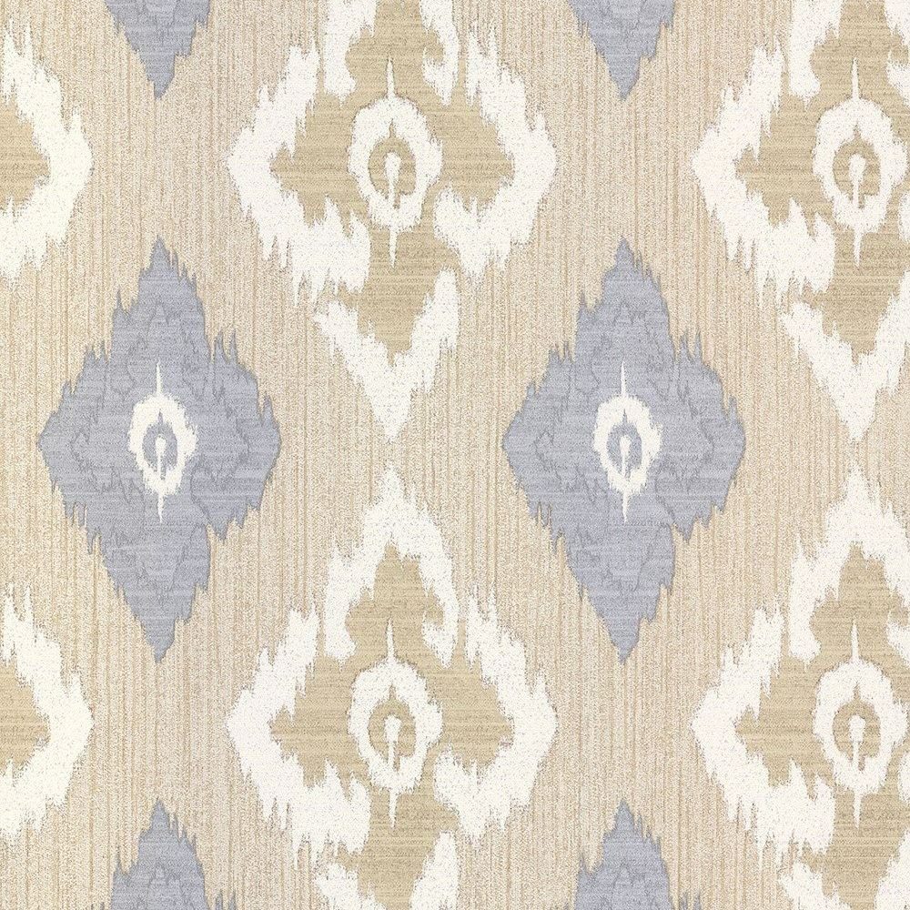 Erismann Romano Geometric Diamond Pattern Wallpaper Glitter Motif