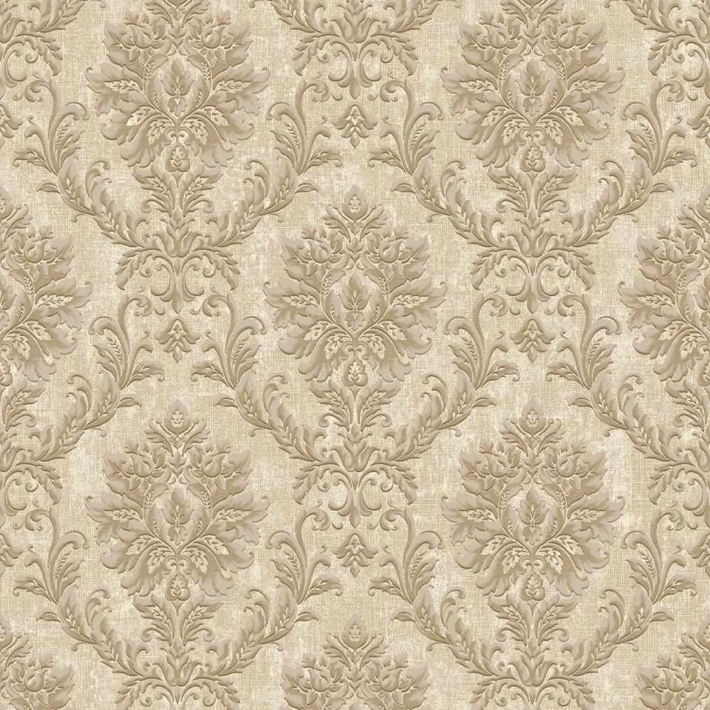 50 Modern Wallpaper Pattern: Luxury Damask Design Wallpaper Modern Floral Pattern