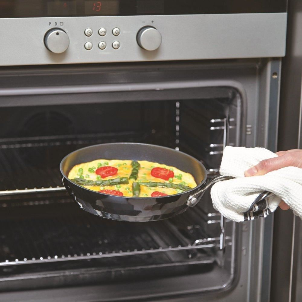 Black-Diamond-Chef-Induction-Frying-Pan-Egg-Fry-Non-Stick-Professional-Cooking thumbnail 6