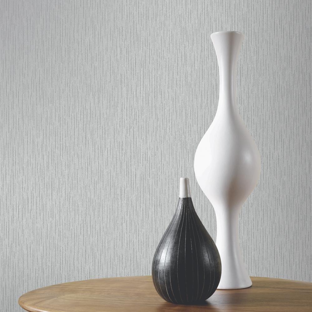 Arthouse anya plain motif vinyle papier peint moderne glitterembossed stripe 886300