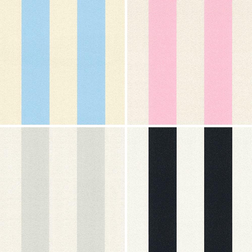 COMME Création Motif Rayé Papier Peint Moderne Paillettes Motif en Relief Vinyl 359902