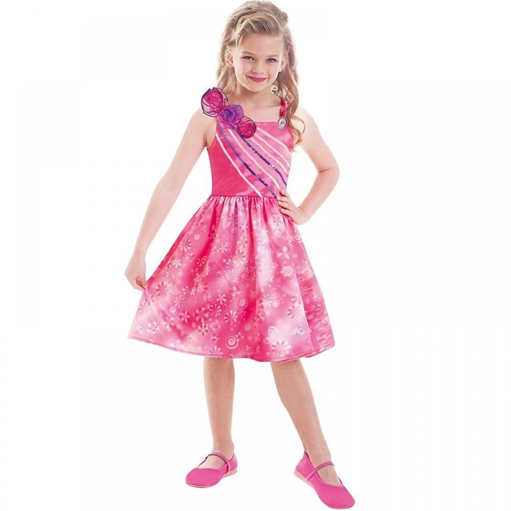 Barbie Fancy Dress Girls Costume Childrens Outfit Kids Book Week ...