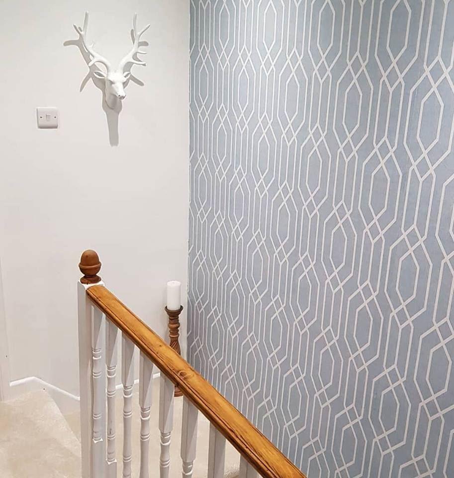 Arthouse New York Geo Pastel Geometric Shape Contemporary 3D effect Wallpaper