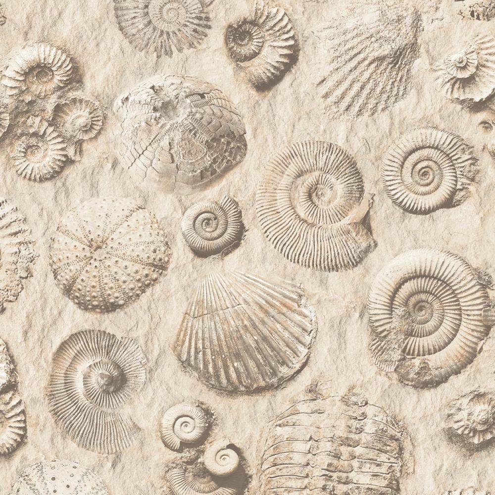 New Muriva Fossil Pattern Stone Shell Motif Faux Effect