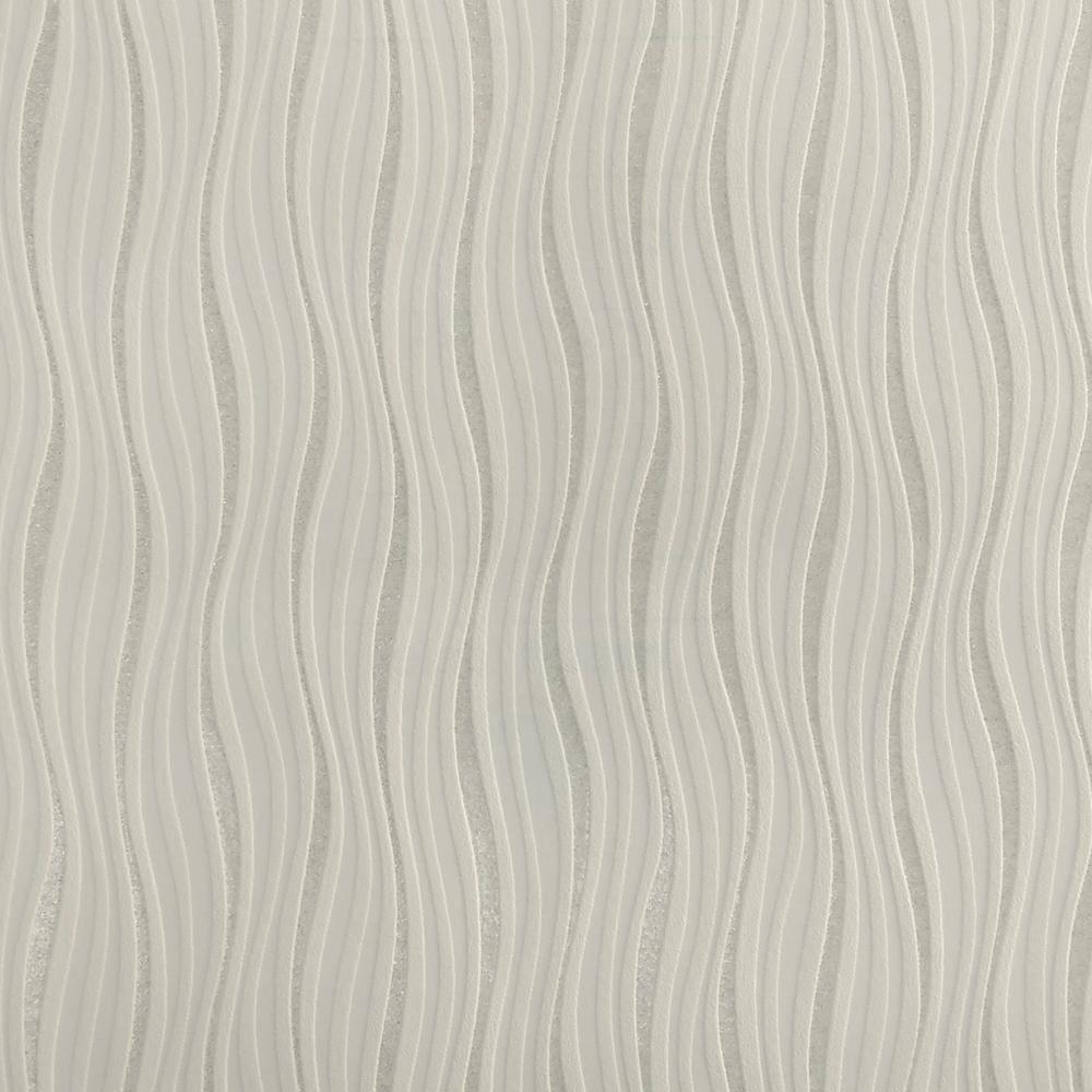 new rasch luxe wave stripe pattern metallic silver glitter. Black Bedroom Furniture Sets. Home Design Ideas