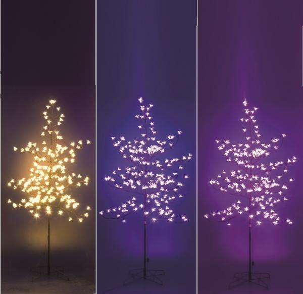 Decorative festive led light up blossom leaf christmas tree indoor decorative festive led light up blossom leaf christmas tree indoor outdoor xmas workwithnaturefo