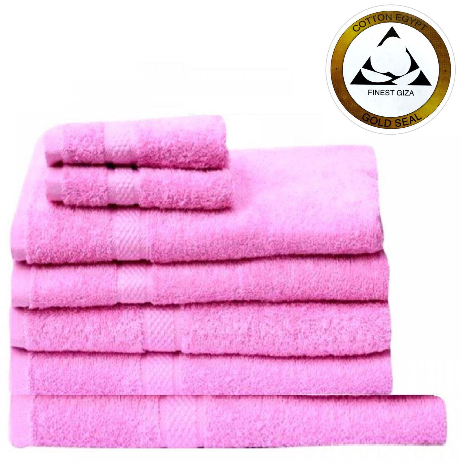 De lujo 7pzas mano algod n egipcio manto rostro toalla ba o s bana grueso suave ebay - Toallas algodon egipcio ...