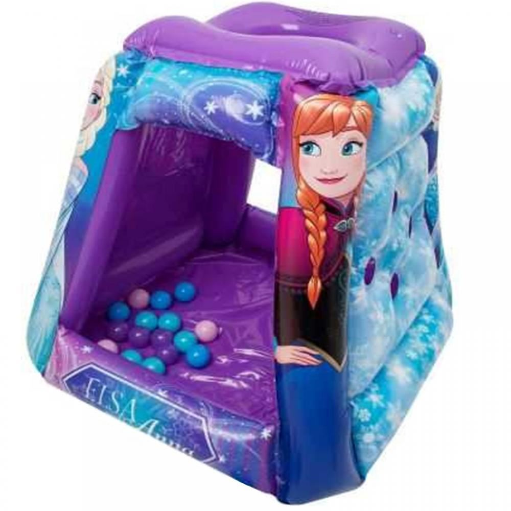 Disney Frozen Tent Inflatable Paddling Ball Pool Play Pit