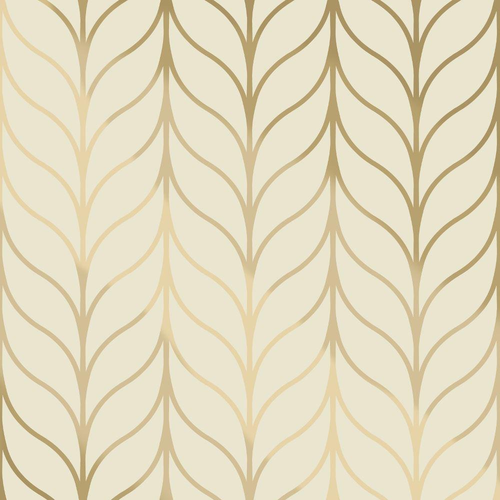 Holden Shimmering Striped Wallpaper Art Deco Trellis