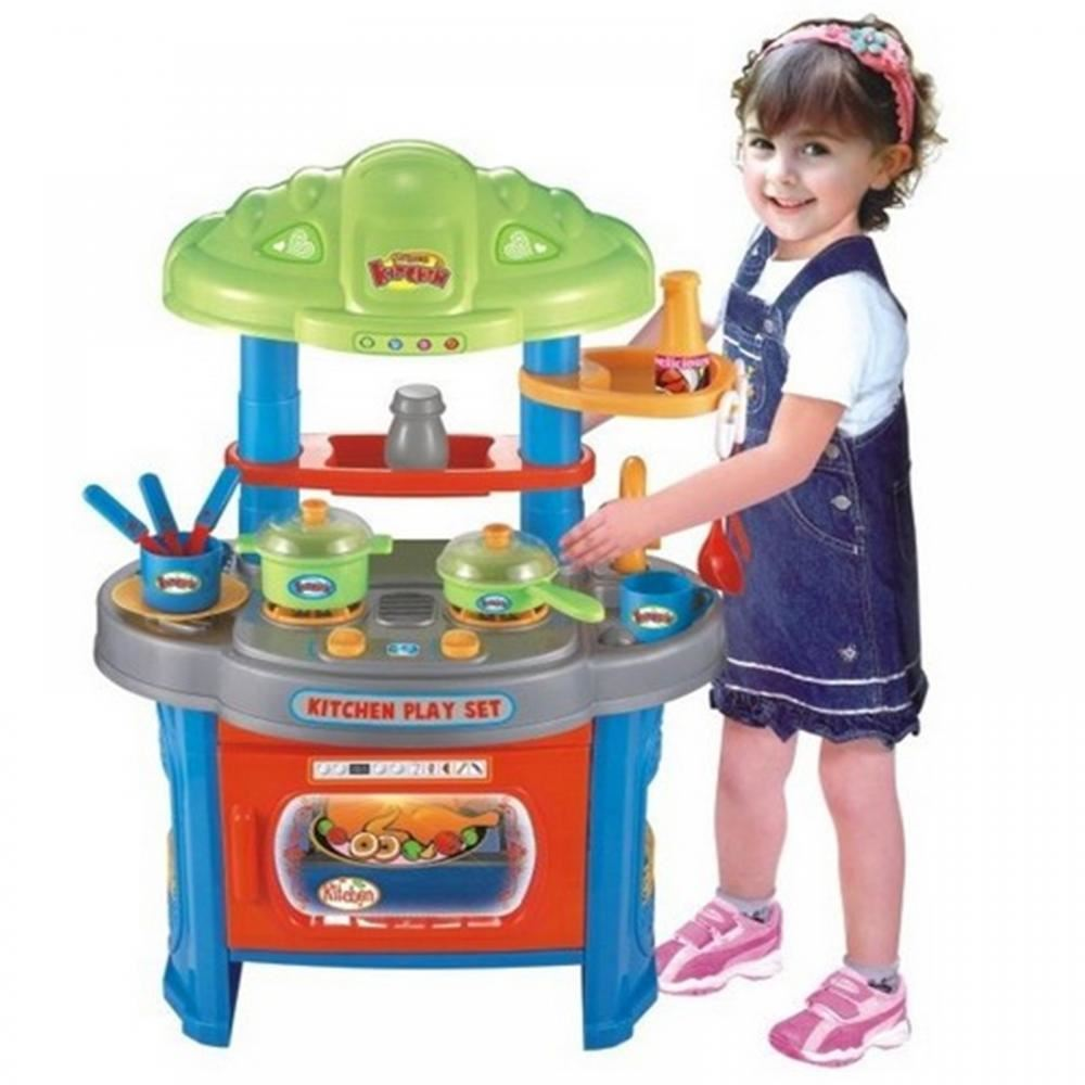 CHILDRENS KIDS KITCHEN COOKING ROLE PLAY PRETEND TOY