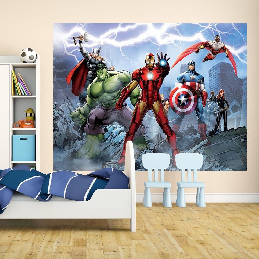 New 1 wall mural marvel dc comics batman superman iron man thor new 1 wall mural marvel dc comics batman amipublicfo Choice Image