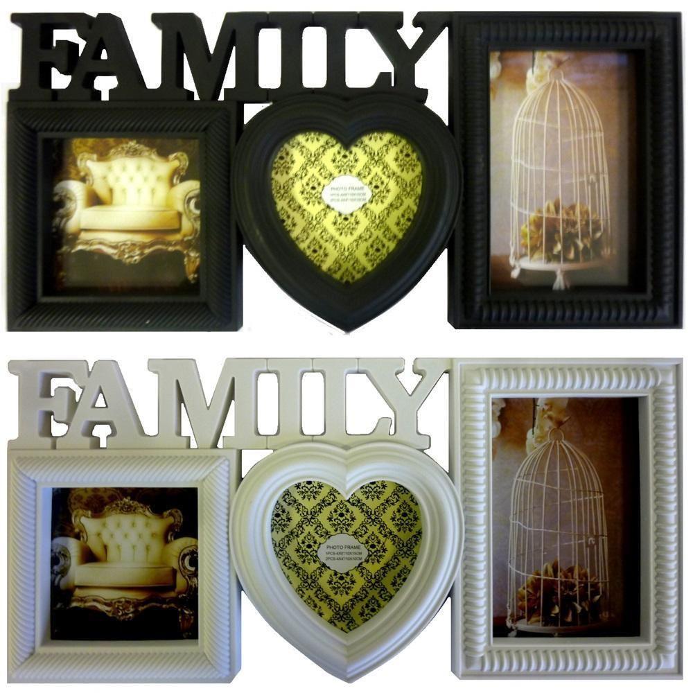 Decorativo Familia Marco de fotos MULTI IMAGEN colgante pared ...