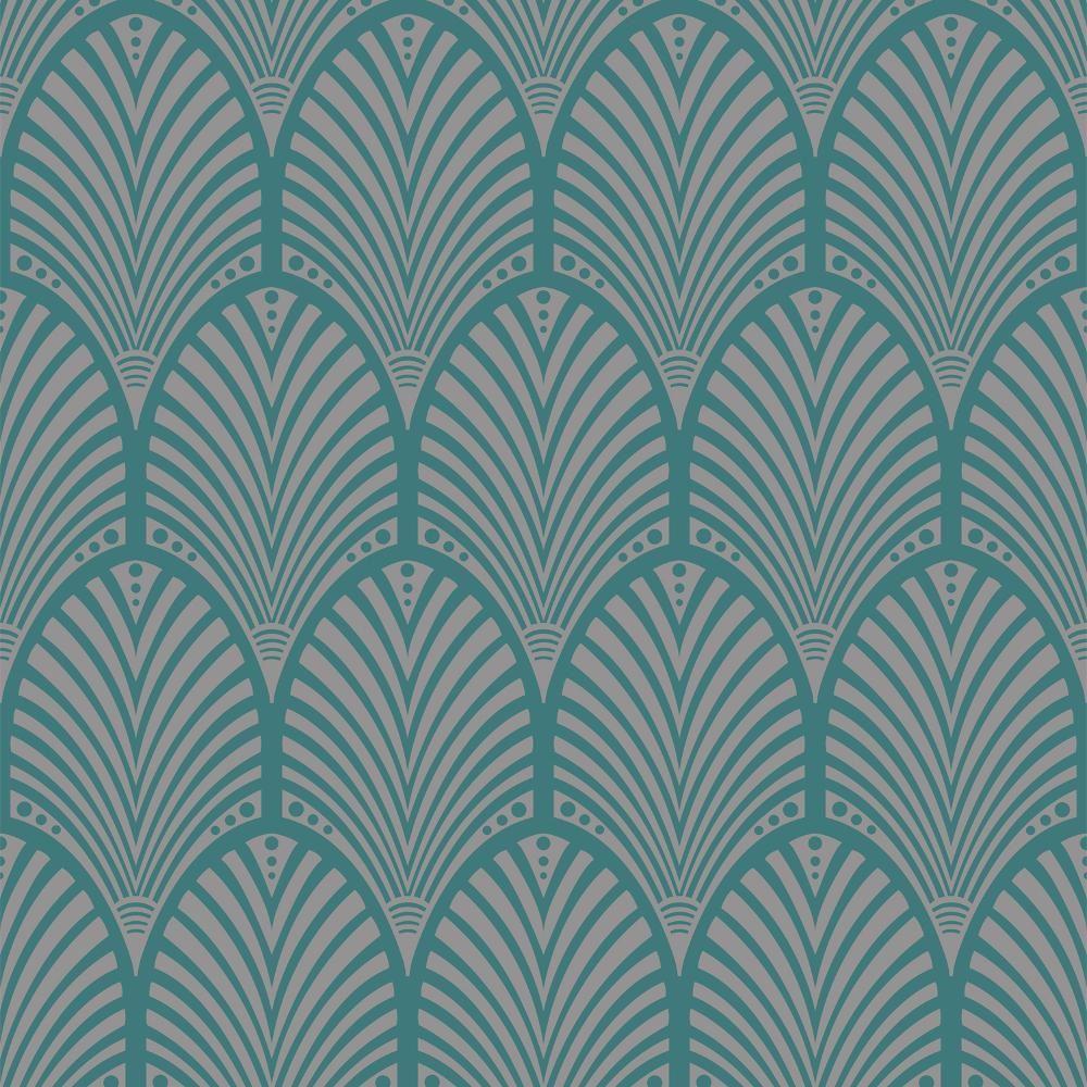 Bien connu Holden Gatsby Arch Pattern Wallpaper Art Deco Retro Vintage  VD62