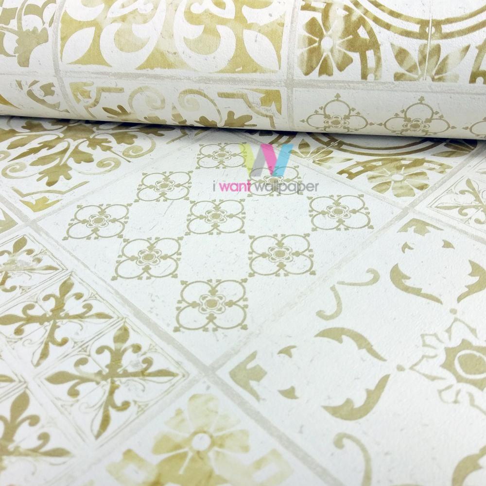 Kitchen Wallpaper Ebay Uk: Grandeco Porto Floral Pattern Wallpaper Baroque Motif