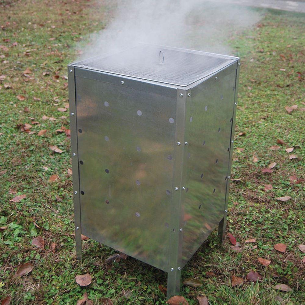 müllverbrennungsanlage feuer abfalleimer 90l verbrennung garten