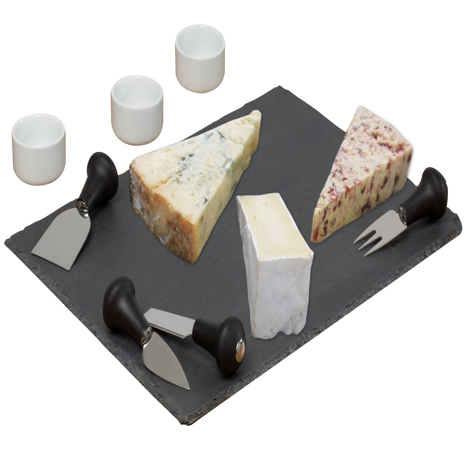 Gr8-Home-Slate-Stone-Grey-Cheese-Board-Dipping-Dish-Presentation-Serving-Plate
