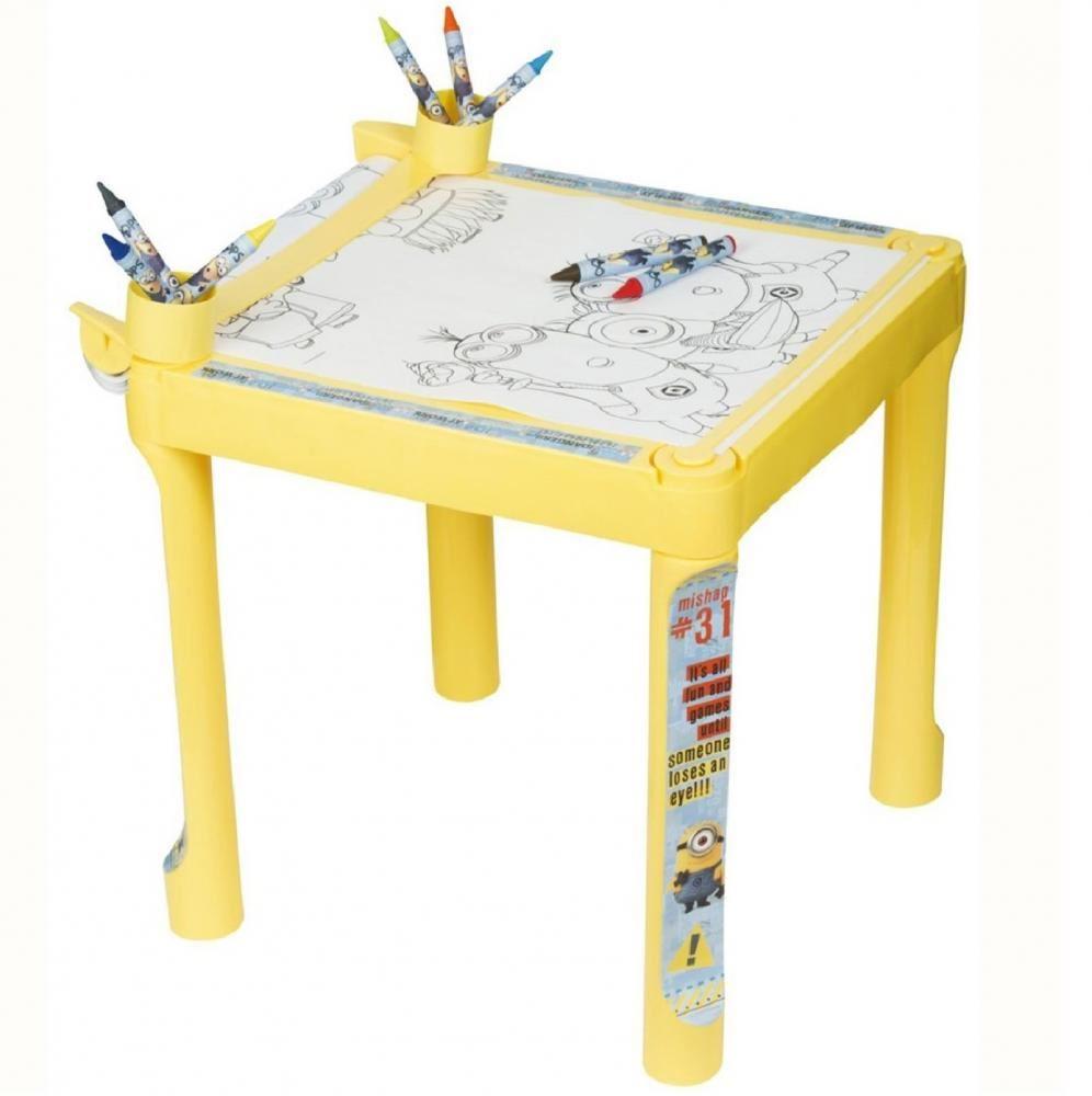 Gru, MI VILLANO FAVORITO MINIONS Actividad De Dibujar mesa para ...