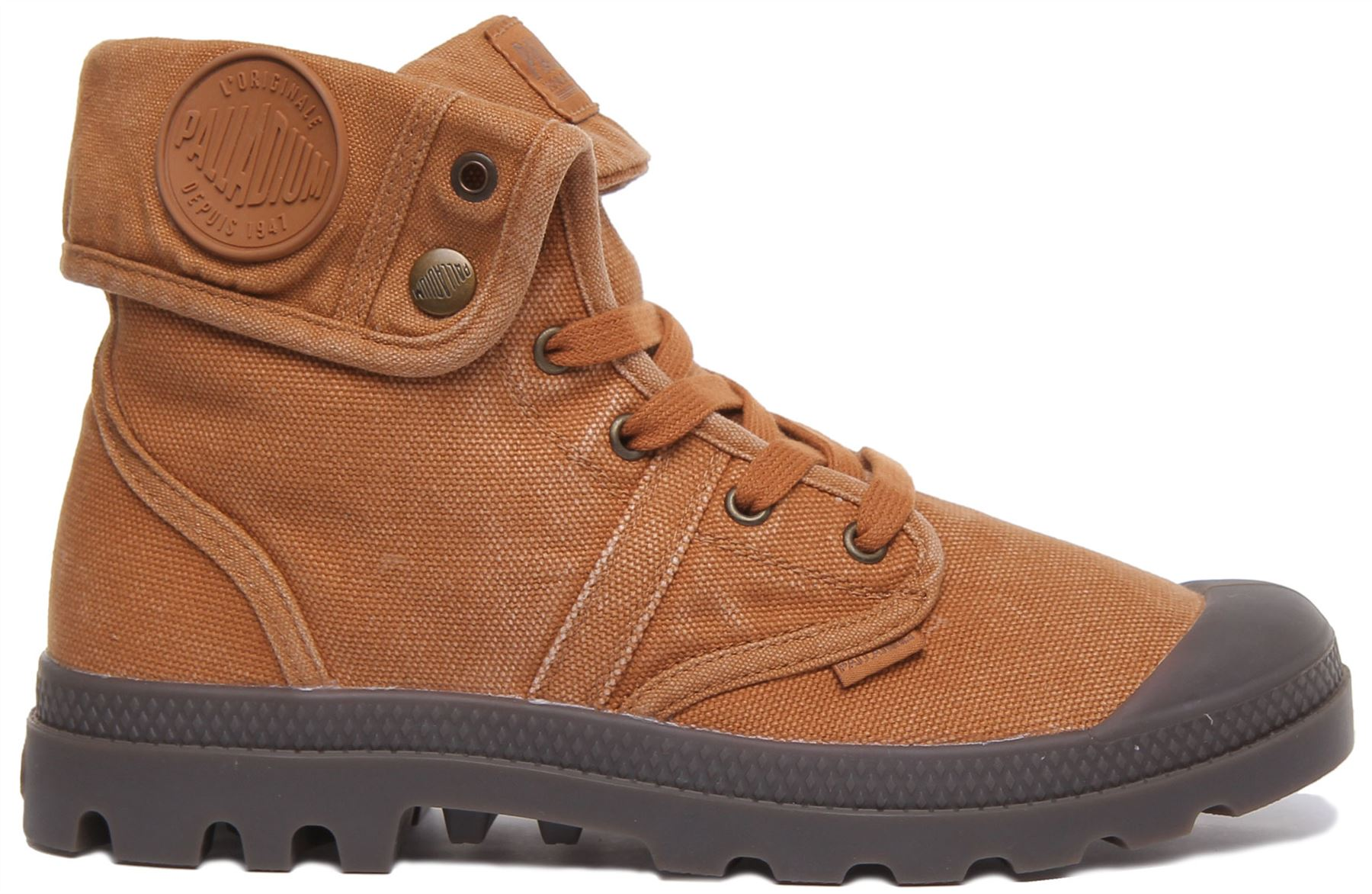 miniature 7 - Palladium Pallabrouse Baggy Rust Bottines Us Baggy Washed Taille UK 6 - 12