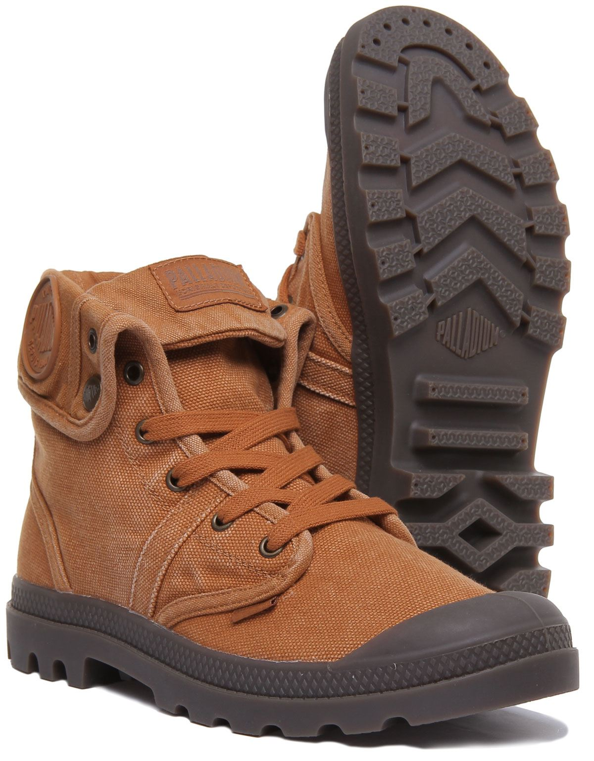 miniature 10 - Palladium Pallabrouse Baggy Rust Bottines Us Baggy Washed Taille UK 6 - 12