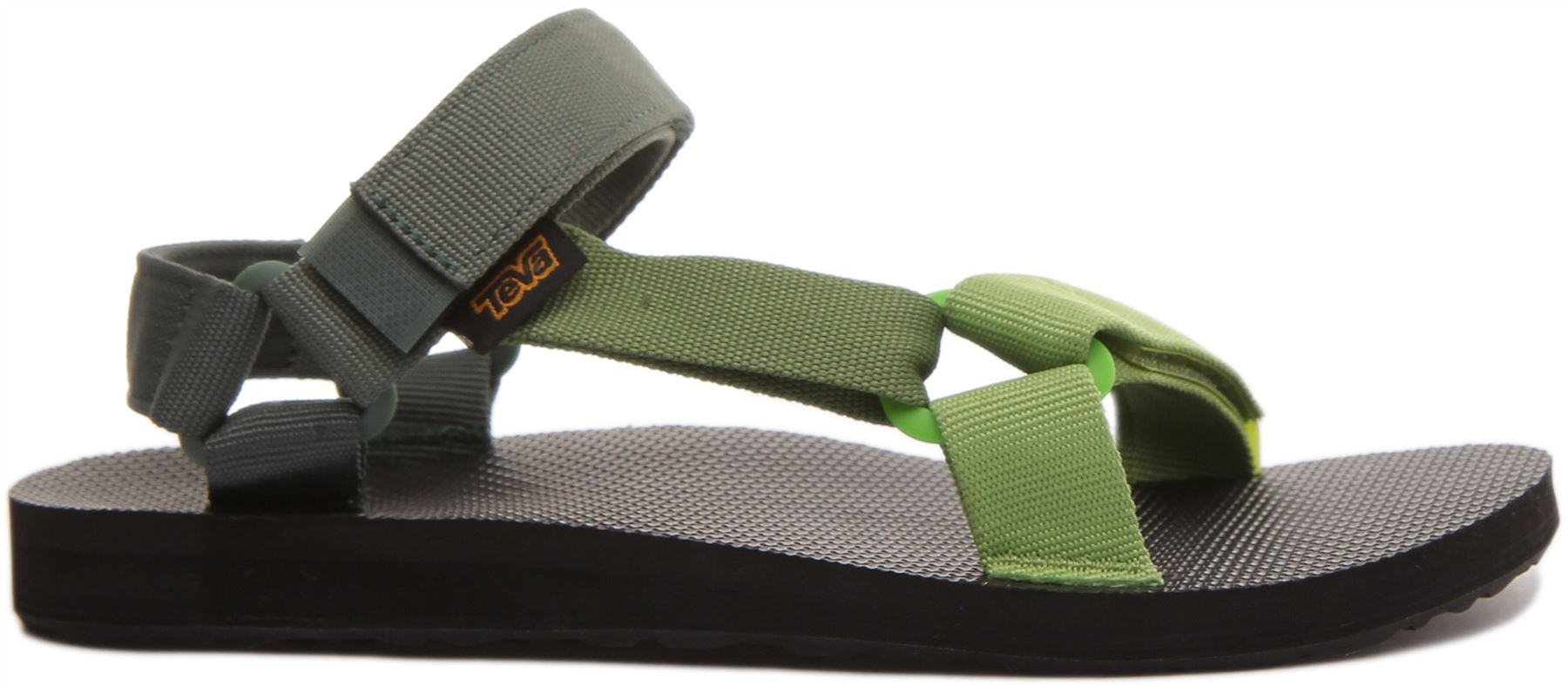 miniatura 8 - Teva Original Universal Da Uomo Con Cinturino Sandalo in Verde Taglia UK 6 - 12