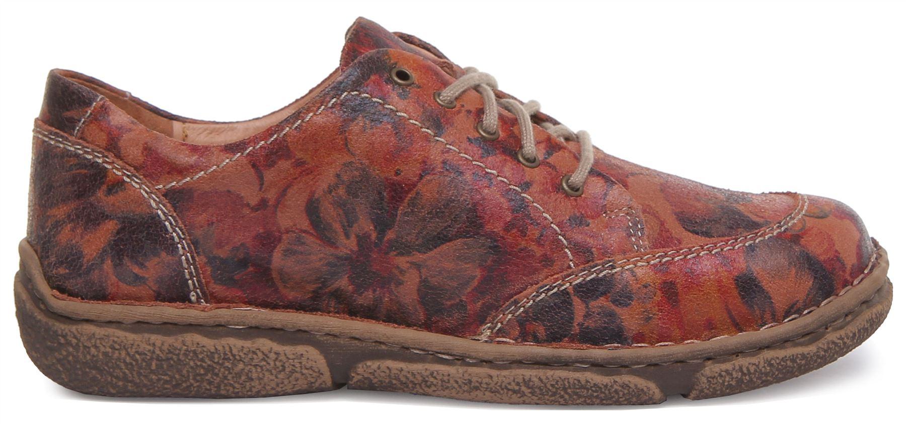Josef Seibel Neele 02 Lacets Chaussure carmin Floral