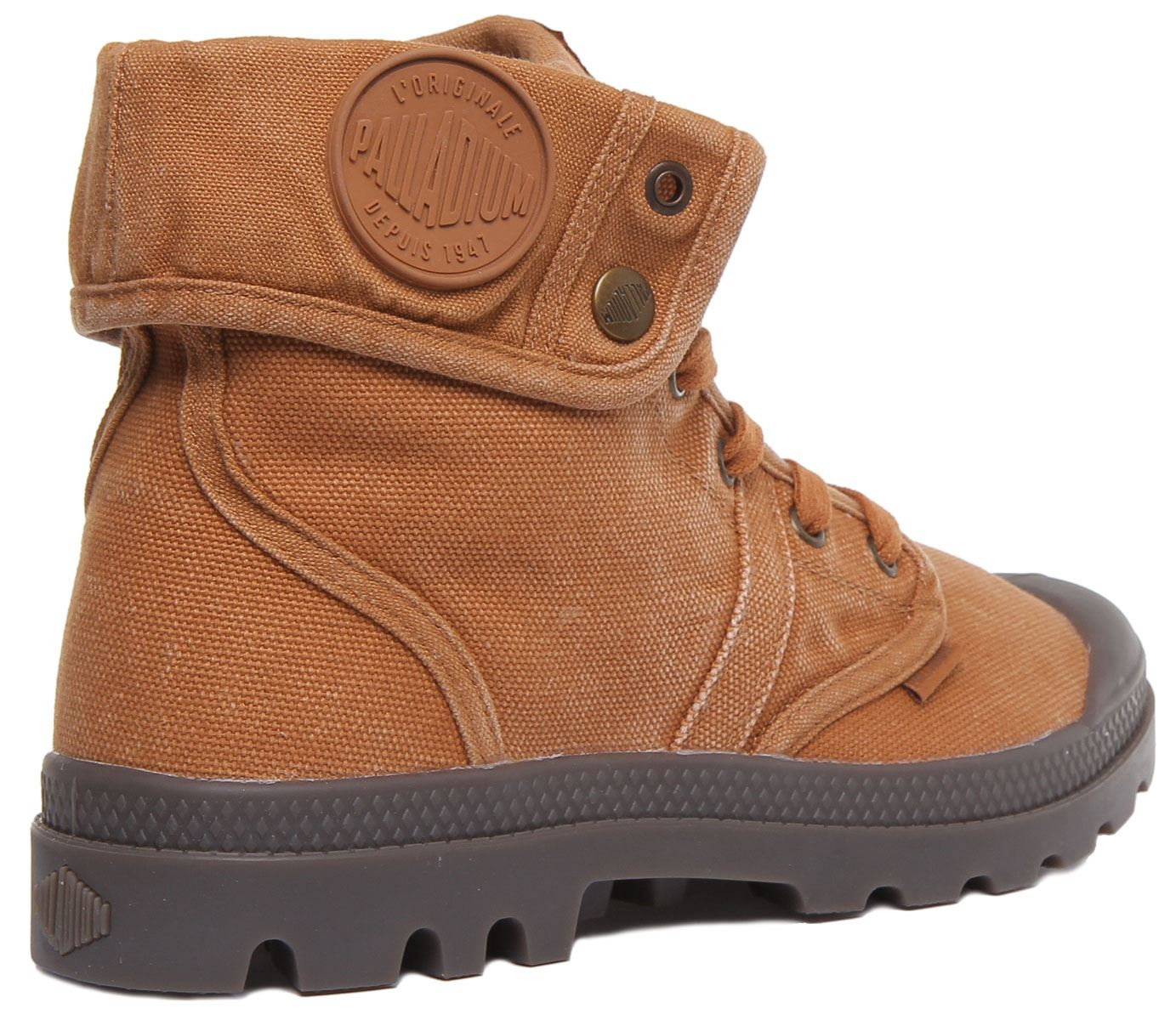 miniature 8 - Palladium Pallabrouse Baggy Rust Bottines Us Baggy Washed Taille UK 6 - 12
