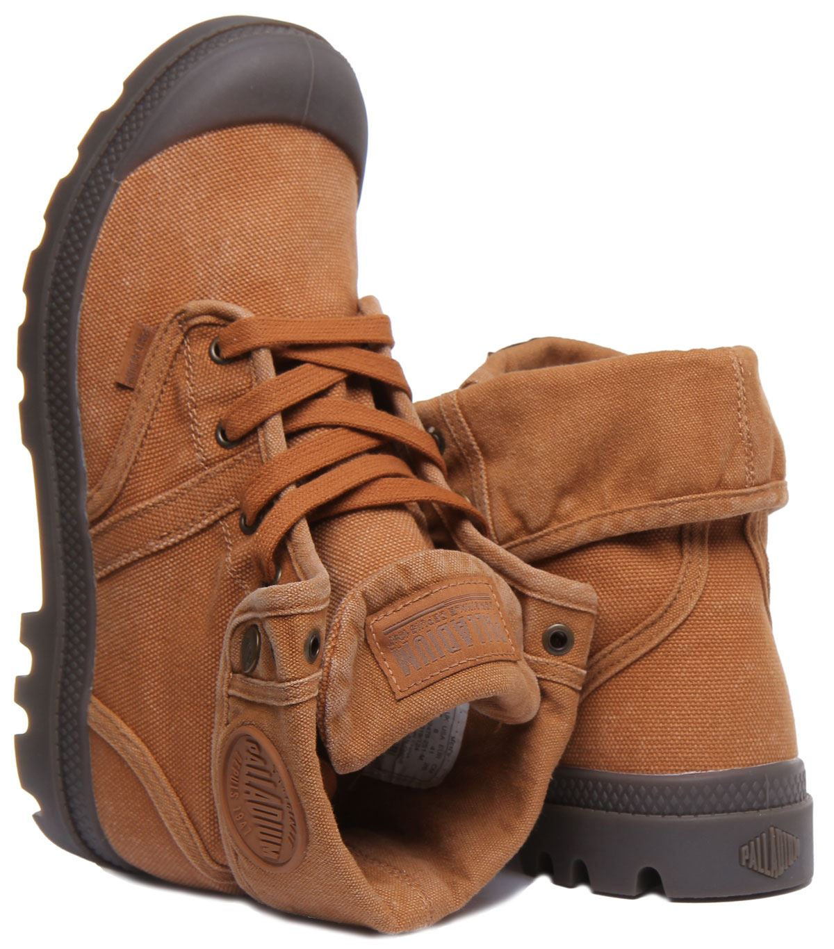 miniature 9 - Palladium Pallabrouse Baggy Rust Bottines Us Baggy Washed Taille UK 6 - 12