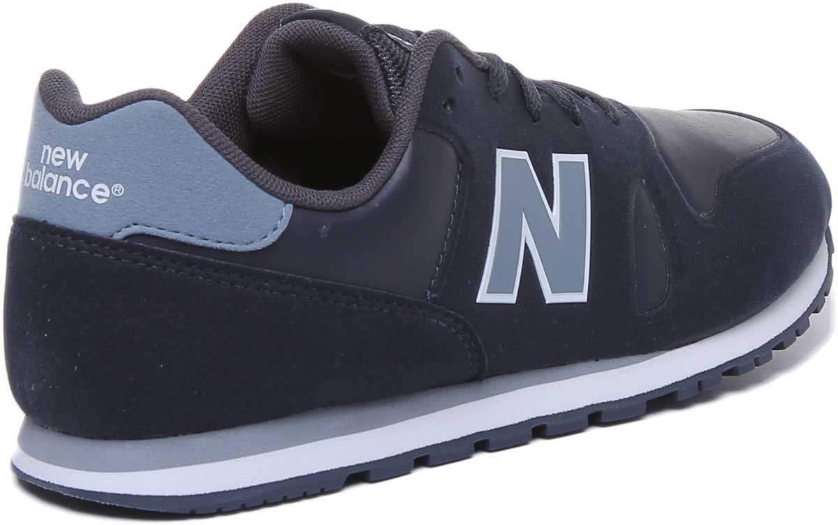 Details about New Balance Kd373S1Y Classic 373 Lace Up Youth Trainers In Navy UK Size 3 - 6.5