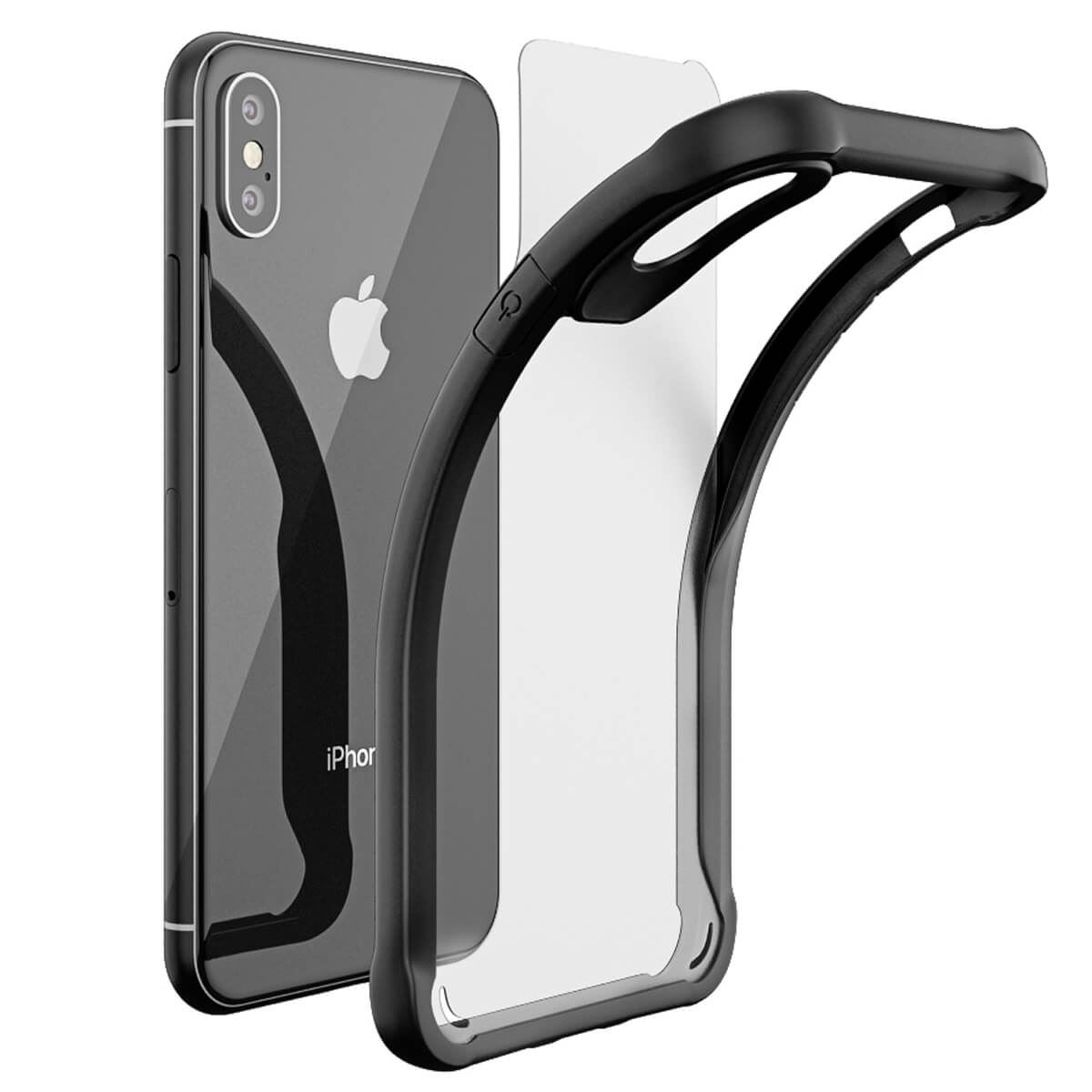 Thin-Shockproof-Case-For-Apple-iPhone-X-8-7-Plus-6s-Clear-Hard-Bumper-TPU-Cover thumbnail 4