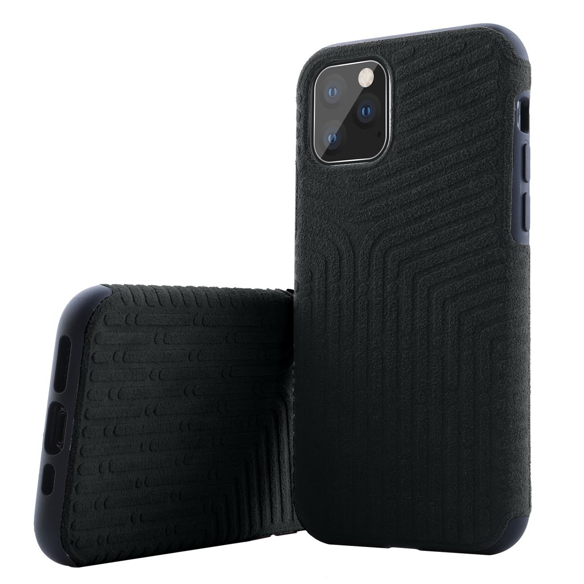 Shockproof-Back-Case-For-Apple-iPhone-11-Pro-Max-Alcantara-Soft-Suede-Cover thumbnail 3