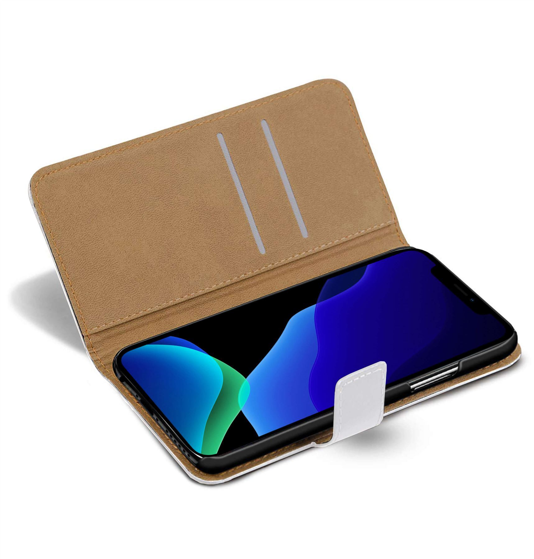 thumbnail 63 - For Apple iPhone 12 11 XR XS Max Leather Flip Wallet Magnetic Stand Card Case