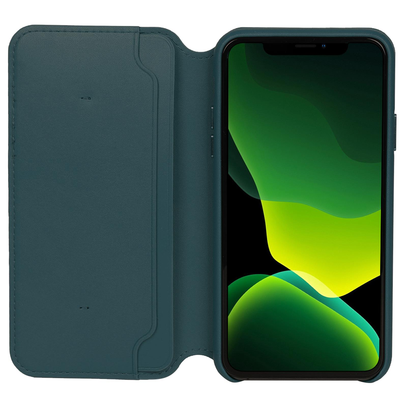 Genuine-Leather-Folio-Flip-Wallet-Case-Cover-For-Apple-iPhone-11-Pro-Max-Xs-8-7 thumbnail 75