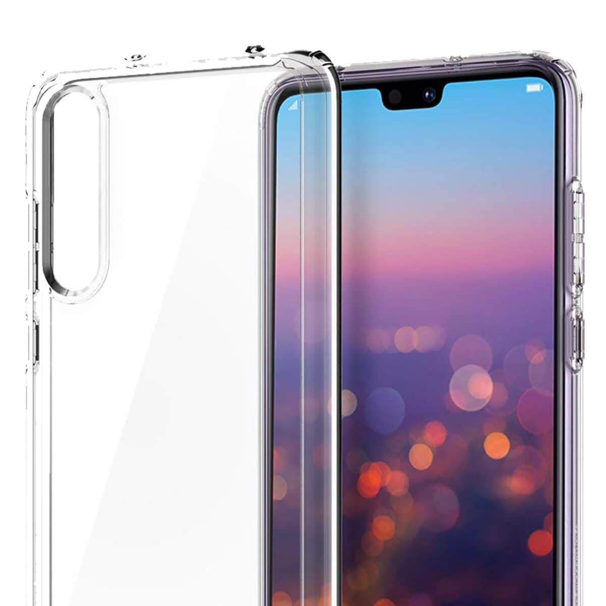 Case-For-Huawei-P20-Pro-P-Smart-Shockproof-Silicone-Protective-Clear-Gel-Cover thumbnail 5