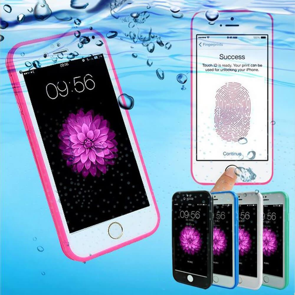Waterproof-Shockproof-Hybrid-Rubber-TPU-Case-Cover-For-iPhone-10-X-8-7-Plus-6s-5 miniatura 32