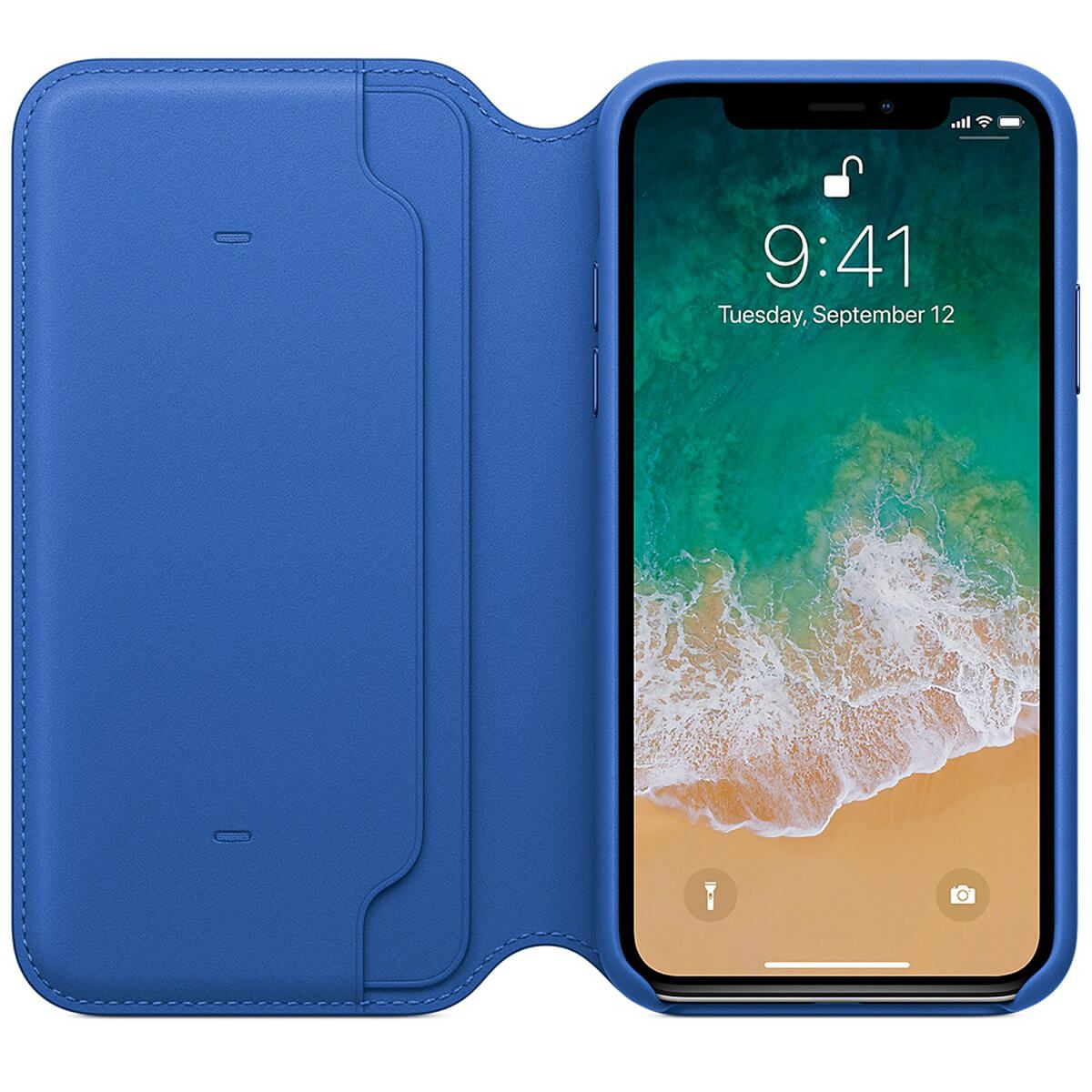 Genuine-Leather-Folio-Flip-Wallet-Case-Cover-For-Apple-iPhone-X-8-7-6S-6-Plus thumbnail 13