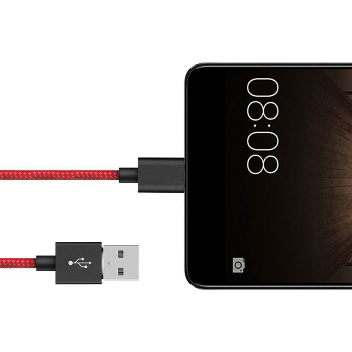 Type-C-USB-C-Sync-Fast-Charger-Charging-Cable-Samsung-Galaxy-S10-S9-S8-Plus-Lite thumbnail 3