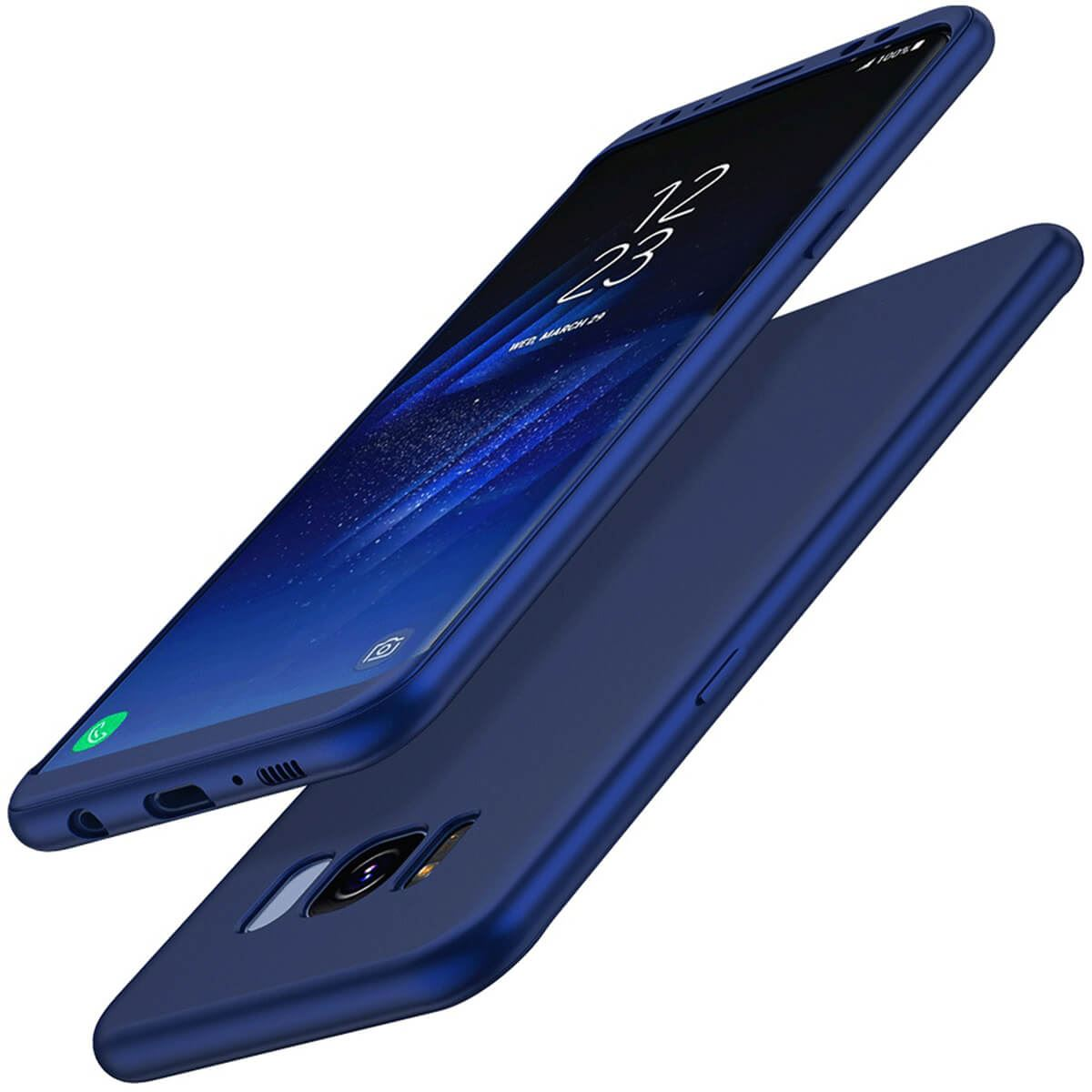 ShockProof-Thin-Case-For-Samsung-Galaxy-S7-edge-S8-Plus-Hybrid-360-TPU-Cover thumbnail 8